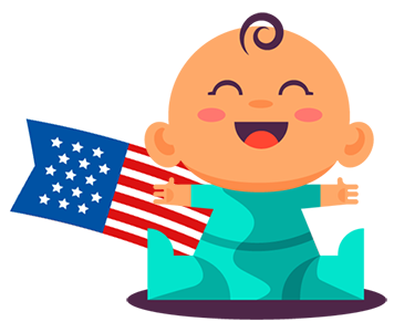 Amerikaanse babymaten omrekenen