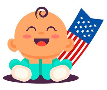 Babymaten Amerika