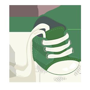 Babymaten schoenen bepalen