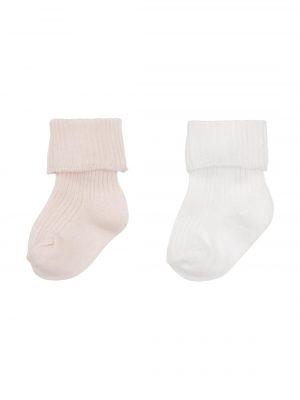 2-pak newborn sokken roze