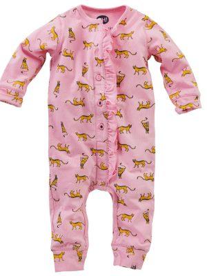 Z8 newborn meisjes boxpakje Swaan roze