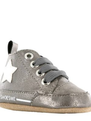 Shoesme leren babyschoenen grijs