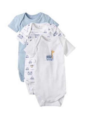 name it BABY newborn romper - set van 3
