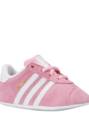 adidas originals Gazelle Crib sneakers roze