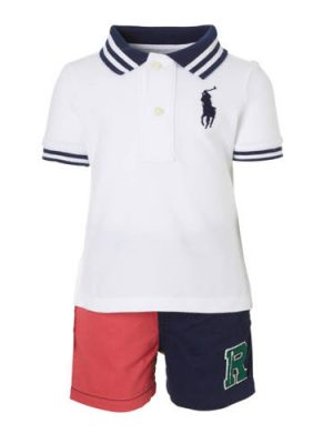 POLO Ralph Lauren polo + short