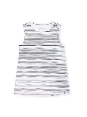 Jollein gestreepte baby jurk zwart/wit