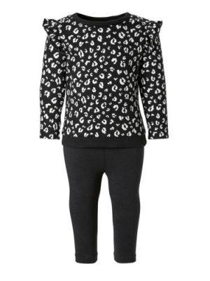 Carter's sweater + legging zwart
