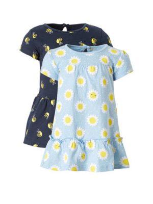 C&A Baby Club jurk - set van 2