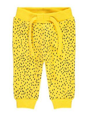 name it joggingbroek Hemund met stippen geel