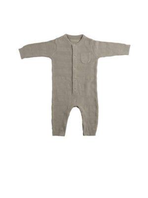 Baby's Only newborn gebreid boxpak kaki