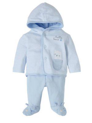 C&A Baby Club newborn vest + broek