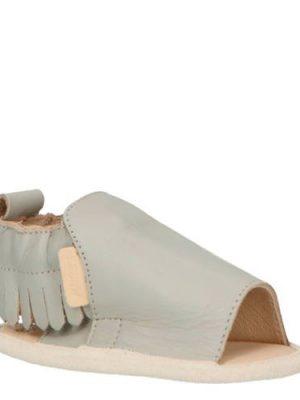 Boumy Noa leren sandalen grijs