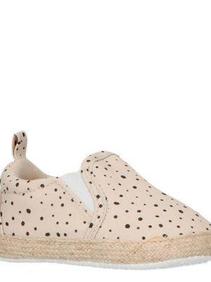 XQ espadrilles babyschoenen beige/zwart