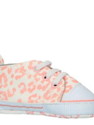 XQ babyschoenen panterprint roze