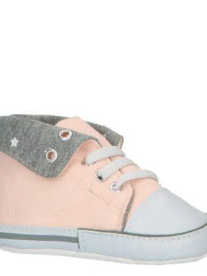 XQ babyschoenen roze/grijs