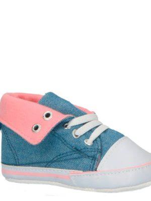 XQ babyschoenen blauw/roze