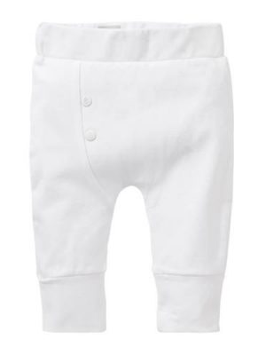 born to be famous. newborn broek wit