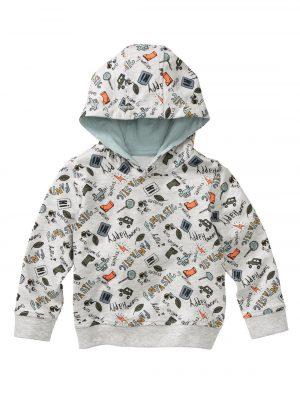 babysweater grijsmelange