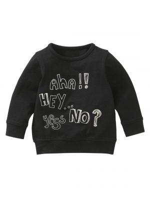 baby sweater zwart