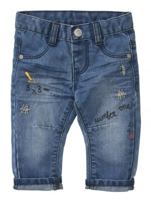 babybroek denim denim