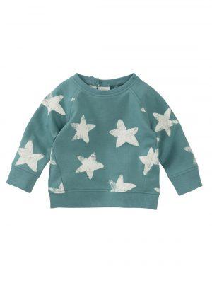 babysweater blauw
