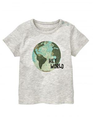 baby t-shirt grijsmelange