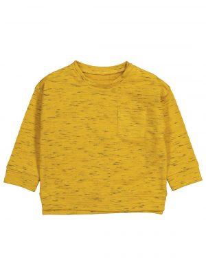 babysweater okergeel