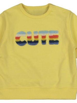 newborn sweater geel