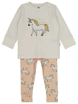 baby pyjama met bamboe lichtroze