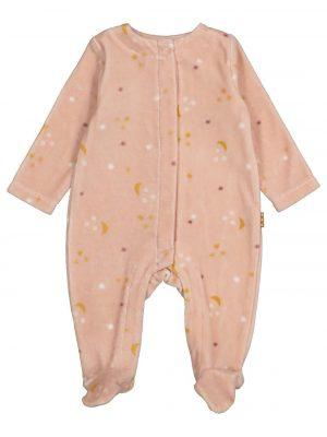 newborn baby jumpsuit roze