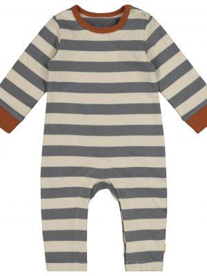 newborn jumpsuit grijs